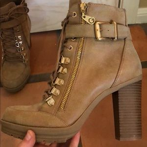 G by Guess moto boots!
